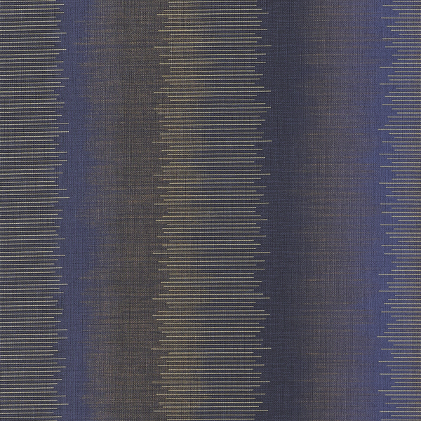 Vinyl Wall Covering Genon Contract Chameleon Stripe Celestial Blue