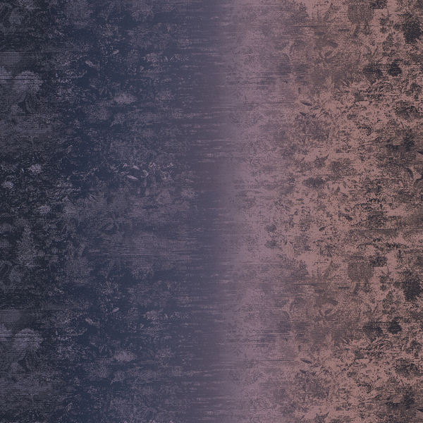 Vinyl Wall Covering Genon Contract Panoramic Ombre Blushing Navy