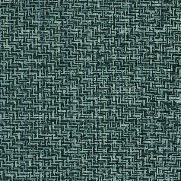 Vinyl Wall Covering Genon Contract Twisted Twill Peacock