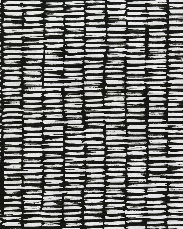 Vinyl Wall Covering Vycon Contract Dash-ing Black n White