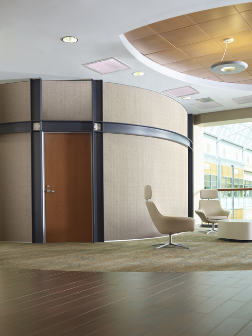 Acoustical Wallcovering Acoustical Resource Davenport Tweed Room Scene