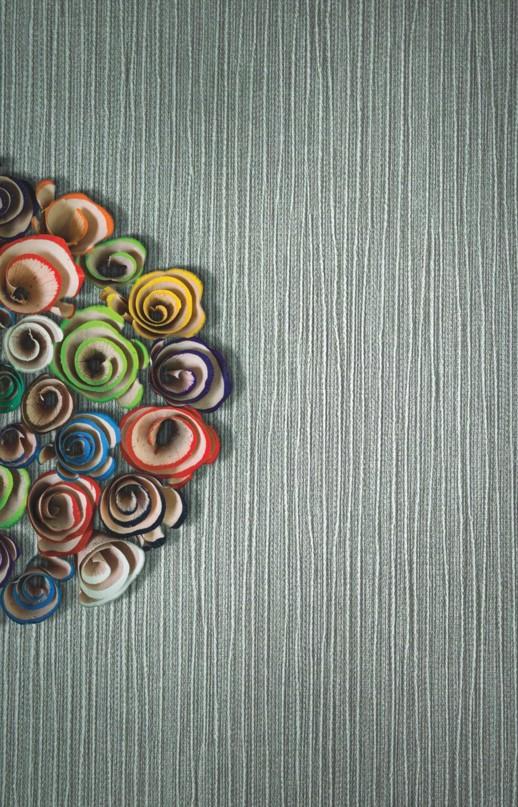 Vinyl Wall Covering Design Gallery Viva La Art Penciled In Jade Room Scene