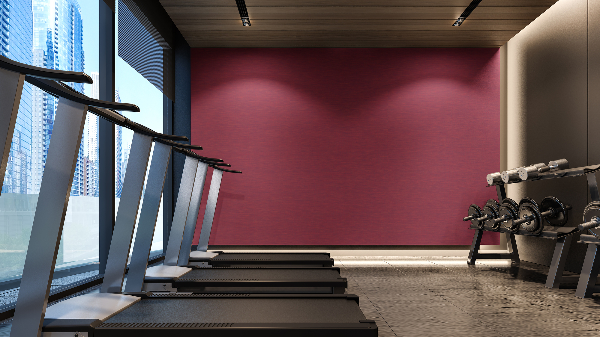 Dimensional Panels Duratec Spectra Brindle Room Scene