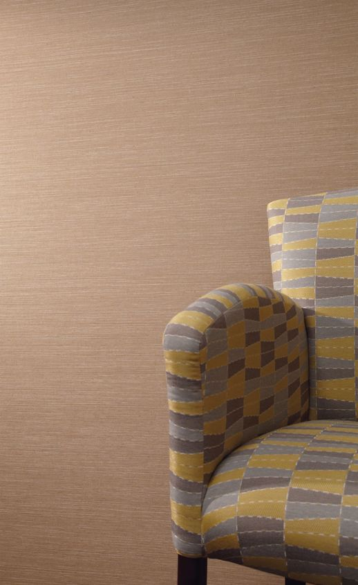 Vinyl Wall Covering Esquire Cabot Soleil Room Scene