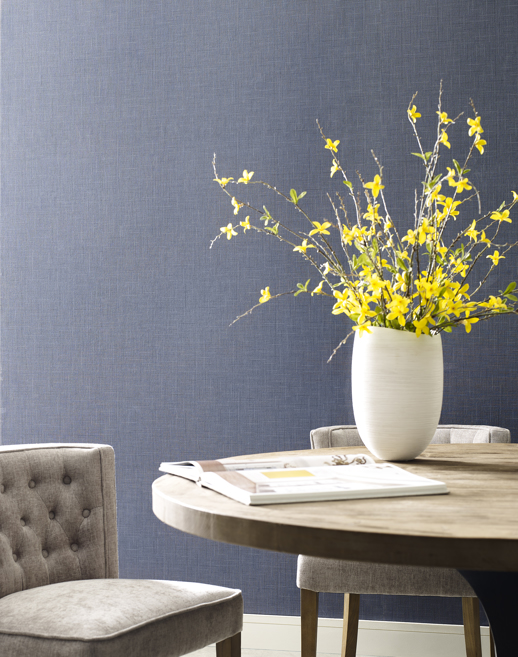 Vinyl Wall Covering Esquire Giotto Oxford Room Scene