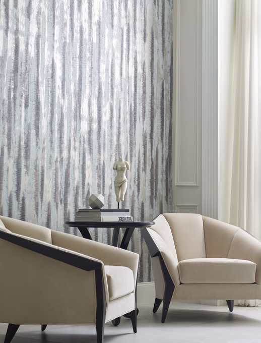 Specialty Wallcovering Handcrafted Soriano Cayman Room Scene
