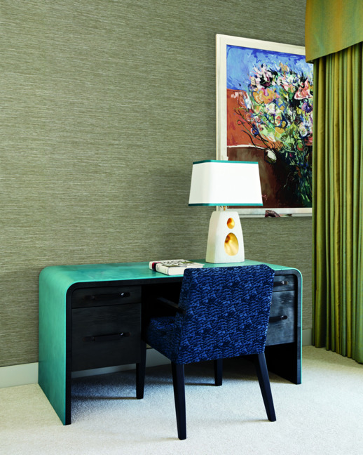 Textile Wallcovering High Performance Textiles Reeves Fawn Room Scene