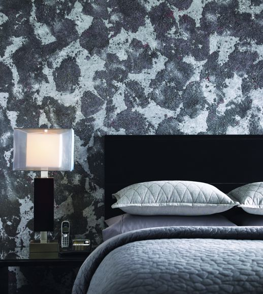 Specialty Wallcovering Unique Effects Corvo Beads  Room Scene