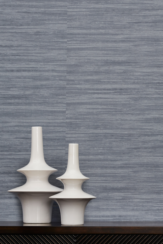 Vinyl Wall Covering Vycon Contract Hide & Silk Hint of Mint Room Scene